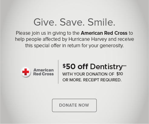 Boulder Modern Dentistry - Donate Red Cross® Hurricane Harvey